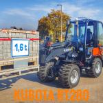 Kubota Radlader hebt Rekordwert