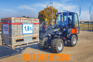 Kubota Radlader knackt Rekordwert