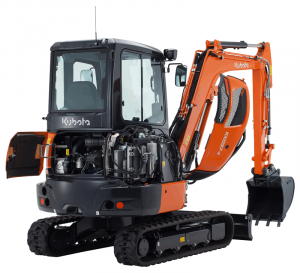 Kubota stellt den minibagger KX037-4 vor