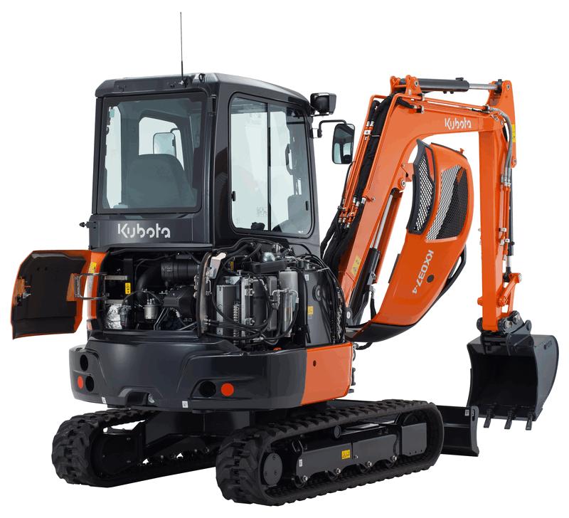 You are currently viewing Kubota stellt den minibagger KX037-4 vor