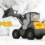 Mecalac stellt den Schwenklader AS500 vor