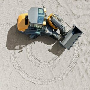 Schwenklader mieten 8 Tonnen