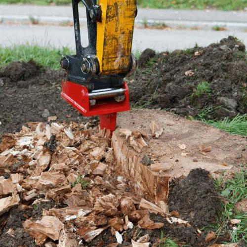 Wurzelratte macht Kleinholz