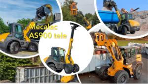 Mit dem Mecalac AS900tele, den Arbeitsprozess fest im Griff