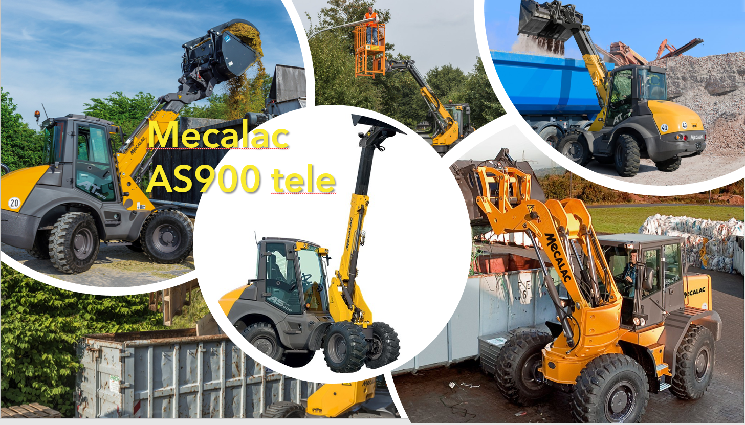 You are currently viewing Mit dem Mecalac AS900tele, den Arbeitsprozess fest im Griff