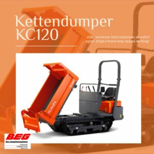 Read more about the article Der KubotaKC120 –                 Nachfolger für den KC100HD