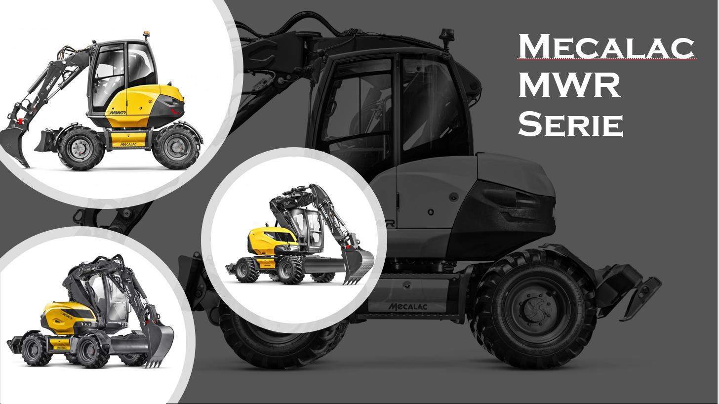 Mecalac MWR Serie – Ein exklusives Konzept, eine einzigartige Lösung – das ist die MWR Serie – 7 • 9 • 11 MWR