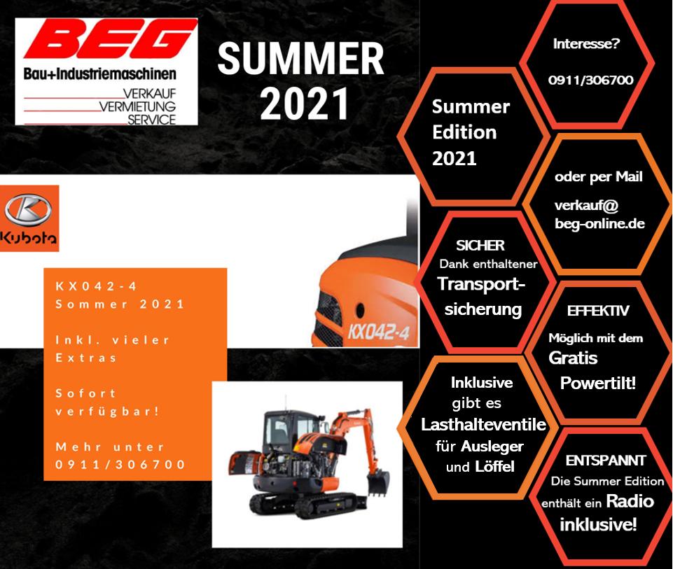 Read more about the article Der KX042-4 – der umweltfreundlichste Bagger in seiner Klasse & damit unser Sieger des Sommers 2021!
