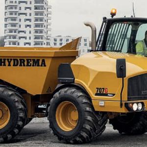 7 Tonnen Hydrema Muldenkipper